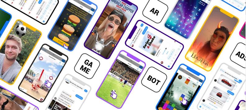 AR Lenses in Marketing & Social Chatbots